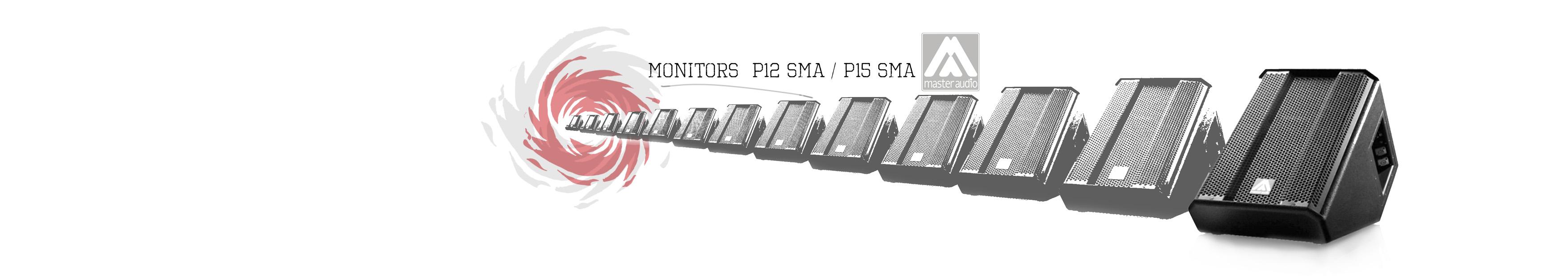 monitors P12 P15 MASTER AUDIO